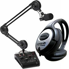 Miktek Procast studio-Station Recording Set per i podcast + TAMBURI Cuffie