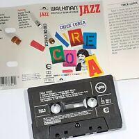 CHICK COREA WALKMAN JAZZ CASSETTE TAPE ALBUM JAZZ FUNK FUSION CHROME VERVE