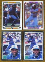 1984 & 1985 Donruss Grand Champion EXPOS Lot GARY CARTER AL OLIVER TIM RAINES