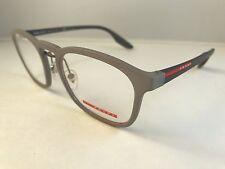 New Authentic Prada VPS 06H VHD 1O1 eyeglasses  gray 54-20-145 wcase NWT