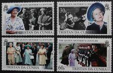 Queen Elizabeth the Queen Mother's century stamps, 1999, Tristan da Cunha, MNH