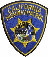 Eureka California Highway Patrol Embroidered Patch Sew/ Iron-on 11.5cm CHiPS