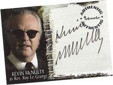 Supernatural Season 1: A-7 Kevin McNulty - Rev Roy Le Grange Autograph/Auto Card