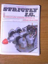 Strictly I. C. Model gas engine magazine Vol 11 No 66 Dec 1998 - Jan 1999