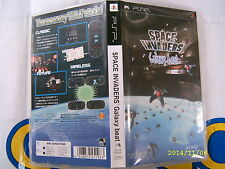PSP GAME SPACE INVADERS GALAXY BEAT (ORIGINAL USED)
