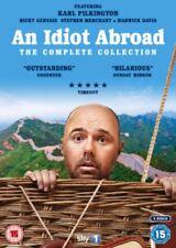 An Idiot Abroad Series 1 To 3 Colección Completa DVD Nuevo DVD (2EDVD0915)