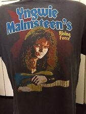 Vintage Yngwie Malmsteen OdysseyTour Shirt Sz L Rock Heavy Metal Guitar 80's