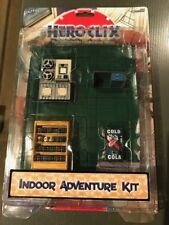 HEROCLIX Indoor Adventure Kit - Miniatures Game Add ons - with 2 Maps + objects