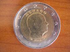 Pièce 2€ ayant circulé : Monaco 2015 Prince Albert