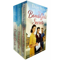 The Bomb Girls Secrets,The Code Girls 3 Books Collection Set By Daisy Styles NEW