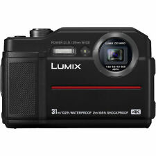 Panasonic Lumix DC FT7 schwarz Digitalkamera  Demo-Modell FT 7