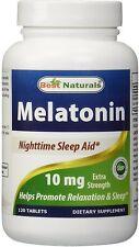 Melatonin, Best Naturals, 120 tablet 10 mg
