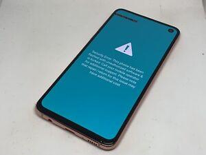 Samsung Galaxy S10e 256GB Coral (Sprint) Android 4G LTE Smartphone READ