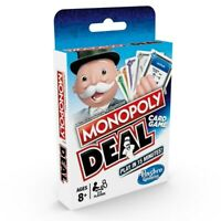 Monopoly Deal Monopoly Brand Deal Card Game - UK Version - Fun Family Game