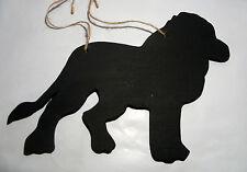 Lion tableau noir Mémo Signe Plaque Murale Tableau Cadeau de Noël Zoo Safari