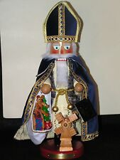 "Steinbach Nutcracker Dutch Sinter Klass 18"" 14TH in Christmas Legends Series"