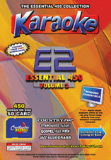 Chartbuster Essential 450 Karaoke Songs Vol 2 SD Card or USB CDG Music 4 PLAYER