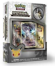 Arceus Mythical Collection Pin Box Pokemon TCG Generations Pack 20th Anniversary