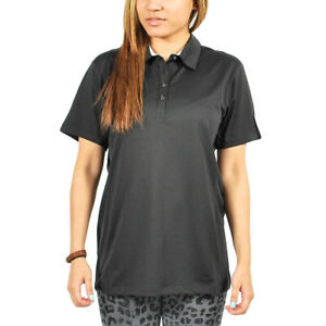 Women's PUMA Golf Tech Black Polo Shirt w/Moisture Management size XS $55
