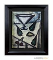 Bernard BUFFET Original LITHOGRAPH Limited EDITION - MARTINI '67 +Custom FRAMING