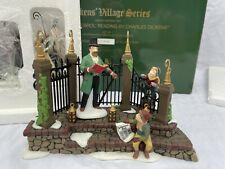 Dept 56 'A Christmas Carol Reading With Charles Dickens' Village Set of 7 Ltd Ed