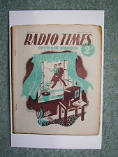 Postcard Vtg Radio Times Cover 3 June 1938 Pre-WWII Hiking Walking Recreation