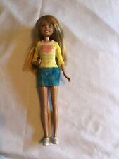 "2010 Barbie Sister Stacie 9"" Doll Green Eyes with Honey Blonde Hair"