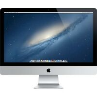 "Apple iMac Core i5 3.1 GHz 4GB 1TB 27"" MC814LL/A"