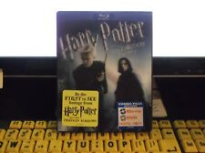 HARRY POTTER AND THE HALF-BLOOD PRINCE BLU RAY+DVD 3 DISC'S