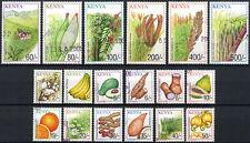 Kenya 2001 SG#768-785 Crops Definitives Cto Used Set #E4565