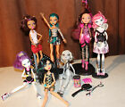 #4 LOT of 7 BEAUTIFUL & SCARY MONSTER HIGH BARBIE DOLLS + ACCESSORIES!