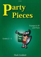 Party Pieces- Grade: 2 - 5; Mark Goddard, TRUMPET & PIANO, SP168, Spartan Press
