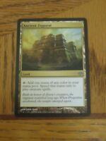 1x Ancient Ziggurat, LP, Conflux, Modern Humans EDH Commander Creature Land