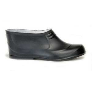 Stridy Mens Womens Black Galoshes - New with Tags