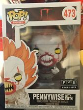 Funko Pop! IT Pennywise with Teeth #473 FYE Exclusive Ships Same Day