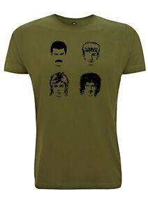 Inspired T Shirt Band Tour Hot Space Freddy 1982 Rock N Roll Mercury Live Music