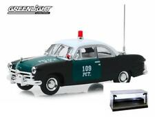 DIECAST CAR W/LED CASE 1949 FORD NEW YORK CITY POLICE DEPARTMENT (NYPD) 1/43