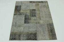 Tapis gris rectangulaire persane/orientale traditionnelle pour la maison