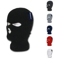 Warm Winter Balaclava 3 Hole Face Masks Beanies Ski Motorcycle Biker Tactical