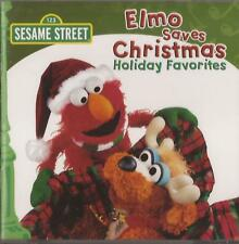 Sesame Street - Elmo Saves Christmas (CD 2008) NEW/SEALED