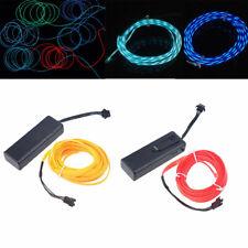 1-5m Flexible 3 Models Neon Glow Neon EL Wire Light + Speed Controller Driver