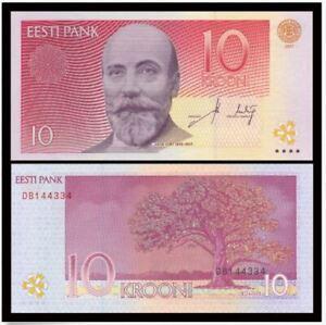 Estonia 10 Krooni 2007 (UNC)