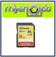 SanDisk Extreme 8GB SDHC Memory Card