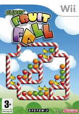 Nintendo Wii Super Fruit Fall System 3 Video Game