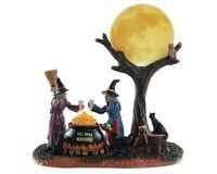 Lemax Spooky Town FULL MOON MOONSHINE #84335 BNIB Illuminated Table Accent