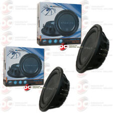 "2 x SOUNDSTREAM STEALTH-124 CAR AUDIO 12"" DUAL 4 OHM  SHALLOW MOUNT SUBWOOFER"
