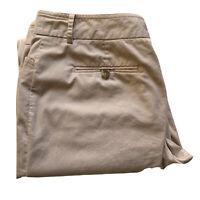 SPORTSCRAFT Size 14 Women's Wide Leg Beige/Cream Pants Trousers with Pockets