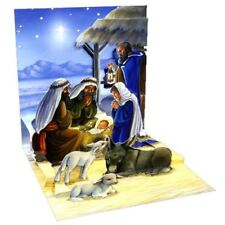 Pop-Up Christmas Card Trearures by Popshots Studios - Holy Child