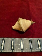 Vintage Collectible Seashell Top Snail Trinket, Pill or Snuff Box or Necklace