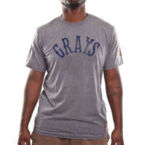 Homestead Grays Negro League Gray Common Union T-Shirt, Small